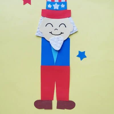 Uncle Sam 4th of July Craft