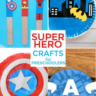 Superhero Crafts for Preschoolers