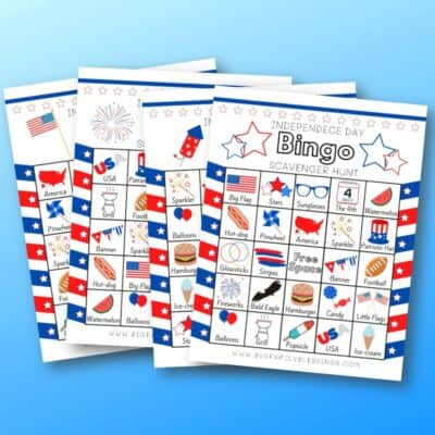 4th of July Bingo Scavenger Hunt