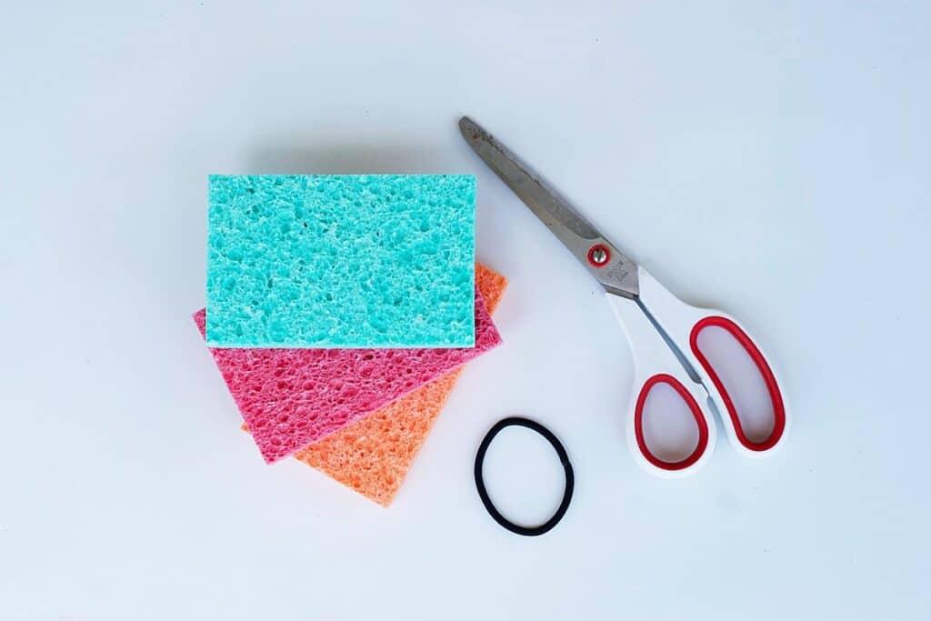 supplies needed to make sponge bombs