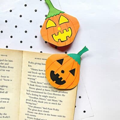 Halloween Corner bookmark