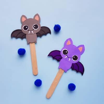 Bat Halloween Puppet