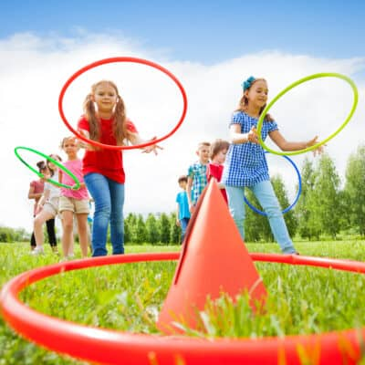 Socially Distanced Game Ideas for Kids