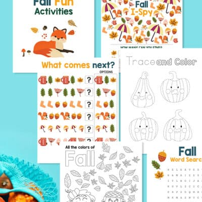 Free Printable Fall Fun Activities