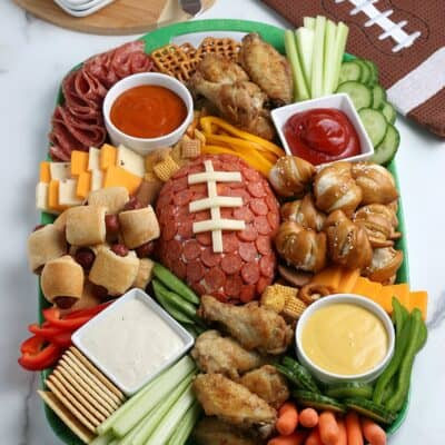 Game Day Tailgating Charcuterie Board
