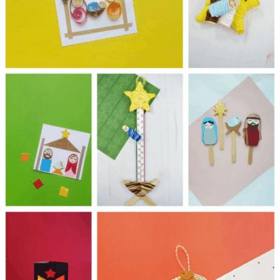 7 Adorable DIY Nativity Crafts for Kids