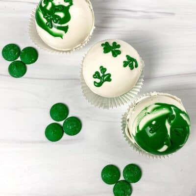 St. Patrick's Day Hot Cocoa Bombs