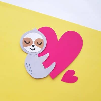 Adorable DIY Sloth Craft