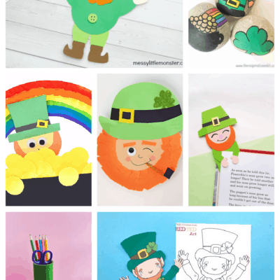 21 Leprechaun Crafts for St. Patrick's Day