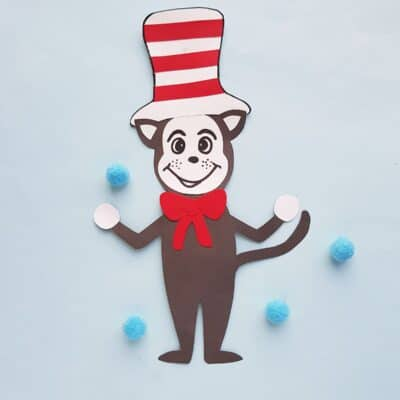 Cat in the Hat Craft for Seuss Week