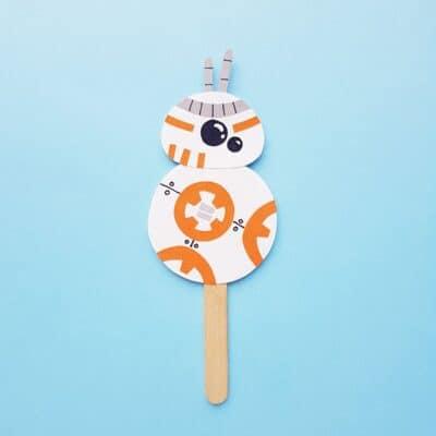 Puppet BB-8 Craft that Star Wars Fans Love!