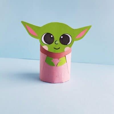 Fun Yoda Craft for Star Wars Day