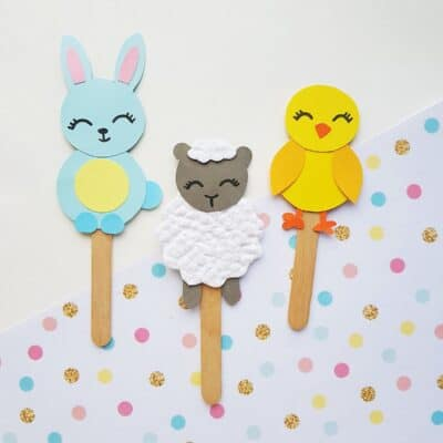 Spring Puppet Crafts