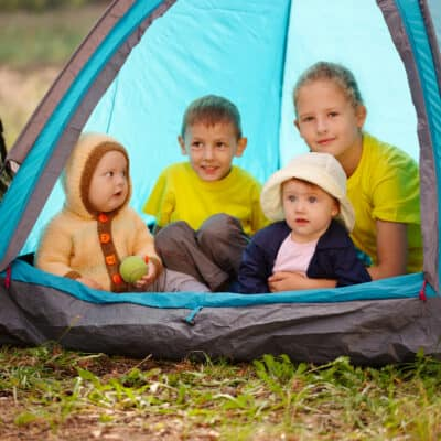 Camping in the Rain with Kids- Fun Rainy Day Camping Activities