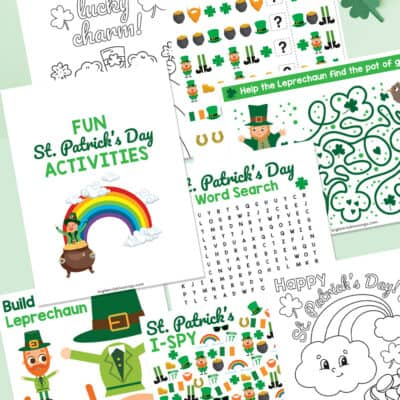 Free Printable St. Patrick's Day Activities for Kids