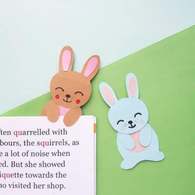 Adorable DIY Bunny Bookmark