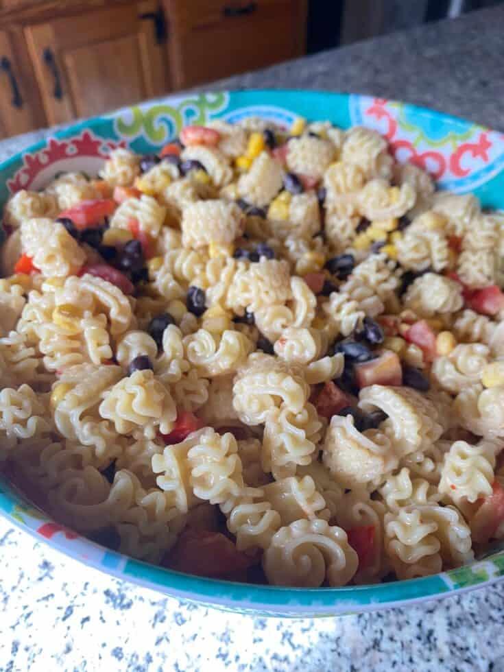 Best Ever Southwest Pasta Salad