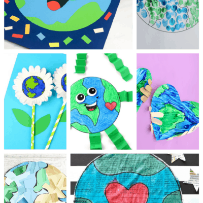 20 Creative Earth Day Crafts for Kids