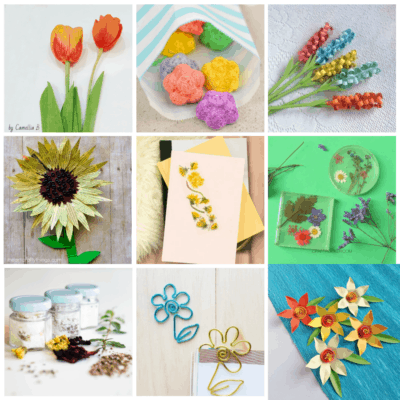 15+ Flower Crafts for Teens