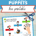 pirate finger puppets printable