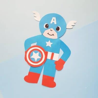 DIY Captain America Craft