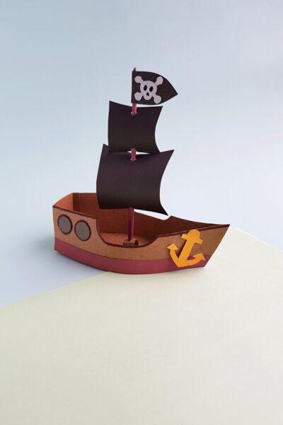 3d pirate ship craft