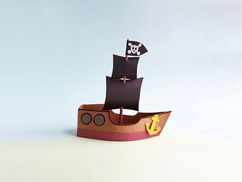 Pirate Ship Craft for Kids