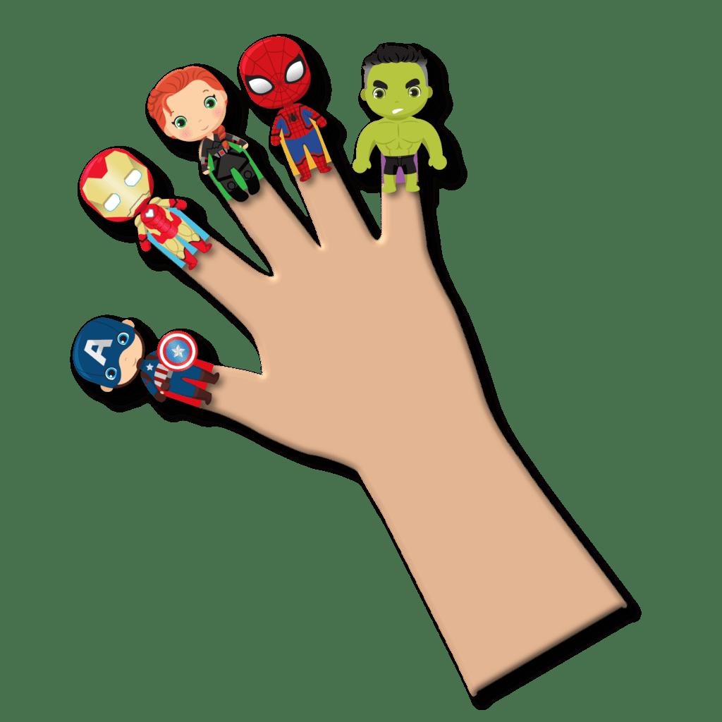 avengers puppets