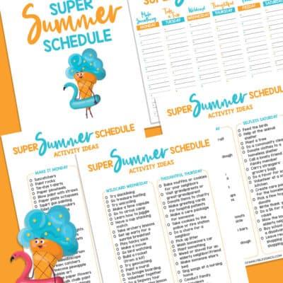 Flexible & Fun Summer Schedule for Kids