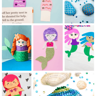 24 Magnificent Mermaid Crafts for Kids
