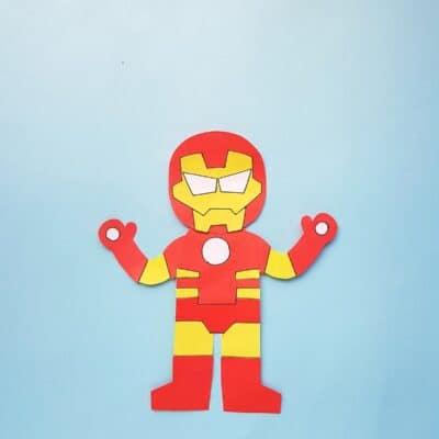 Ironman Craft for Kids