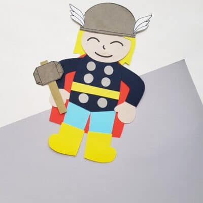 Thor Craft for Kids