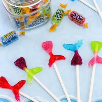 DIY Mermaid Lollipops