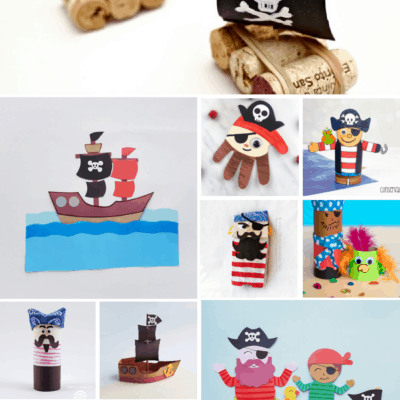 Ahoy Matey!  20 Awesome Pirate Crafts for Kids