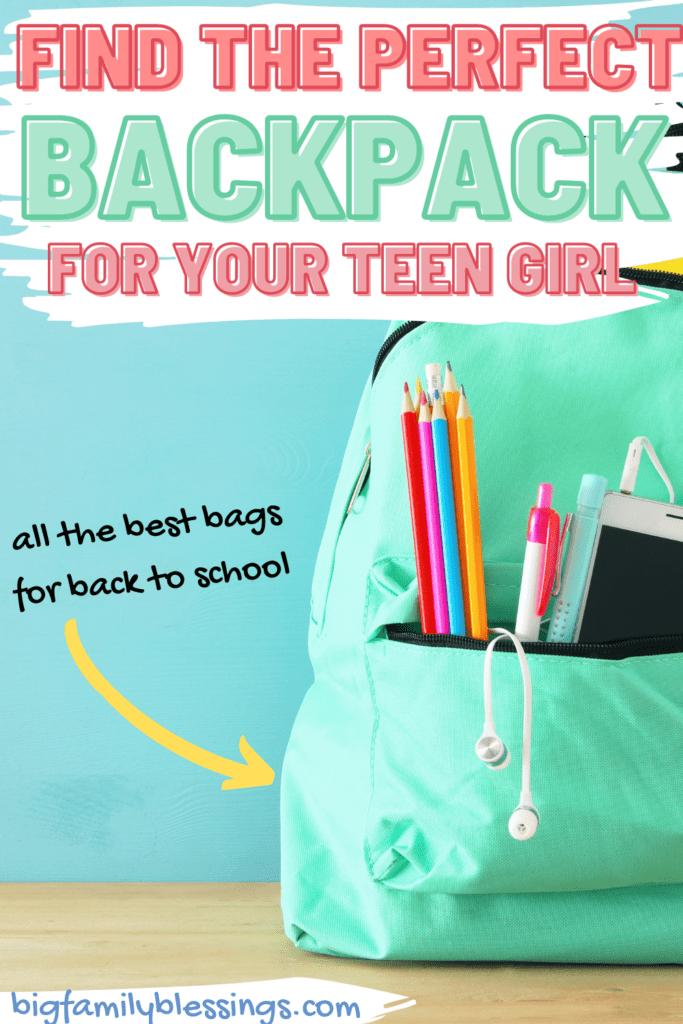 the best backpacks for teen girls