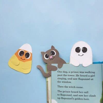Halloween Bookmarks Craft