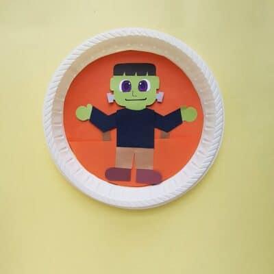 Frankenstein Craft for Halloween