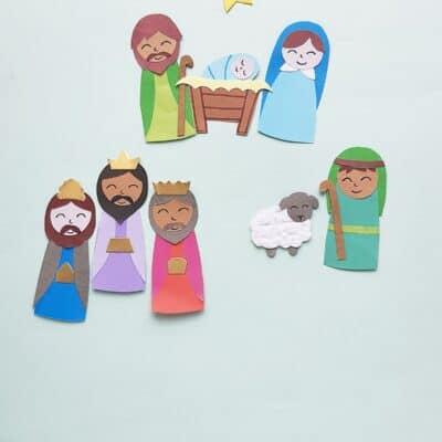 DIY Nativity Scene Craft