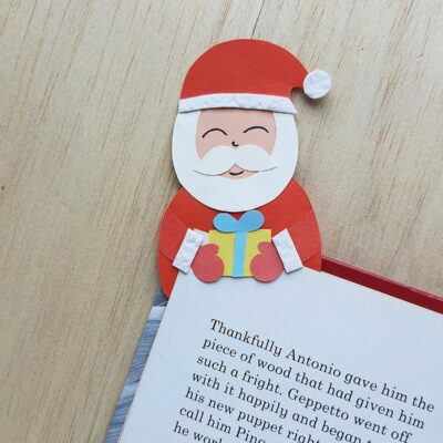 Santa Bookmark Craft